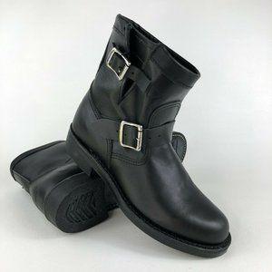 "Chippewa Raynard 7"" Leather Engineer Boots 7.5M"